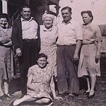 Sophie, Walter, Mother, Angelo, Anna, & Jean
