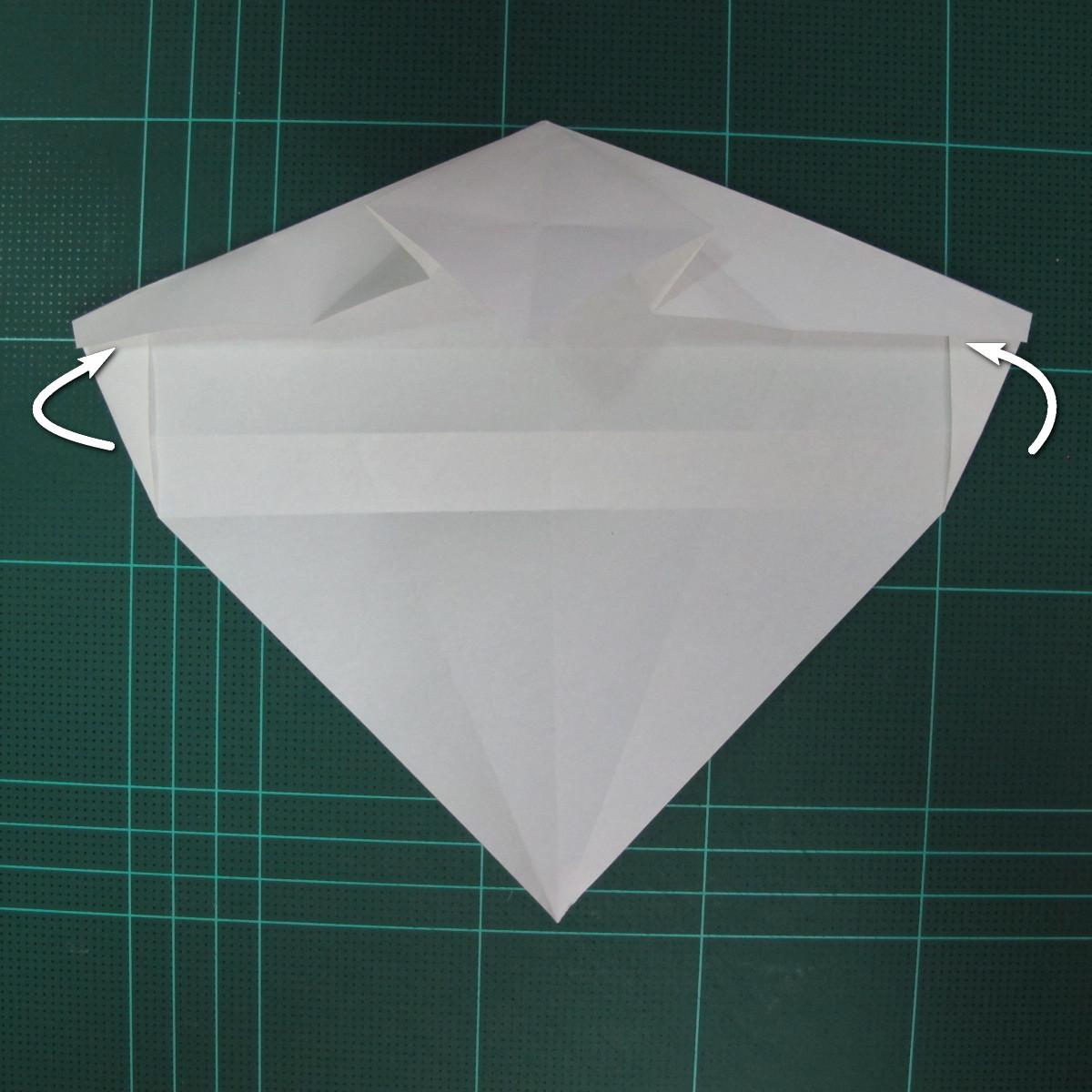 วิธีพับกระดาษเป็นรูปปลาแซลม่อน (Origami Salmon) 019