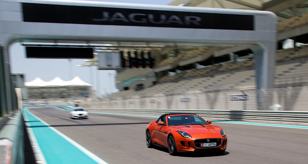Jaguar Experience | Yas Marina | April 2014