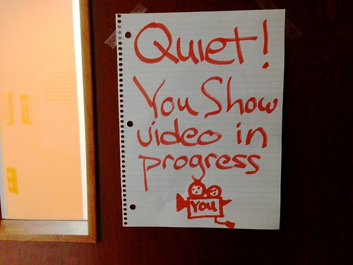 Quiet on the You Show Set | by cogdogblog