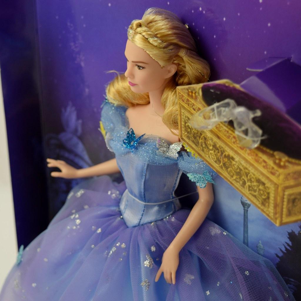 Disney Princess Royal Ball Cinderella Doll: Disney Cinderella Royal Ball Doll By Mattel