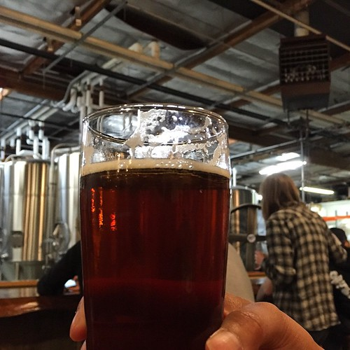 #kvpinmybelly TGIF! Haberdasher English IPA at @SocieteBrewing. Loving the puppies and brew! #beerheaven | by queenkv