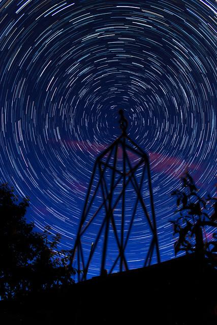 45 Minute Star Trails 04/07/16