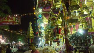 A stall selling Ramadan lanterns | by Kodak Agfa