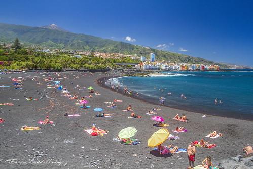 Playa Jardín. Puerto de la Cruz. Tenerife (8-6-16)