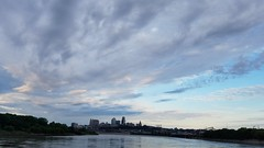 View of Kansas City from Kaw point.