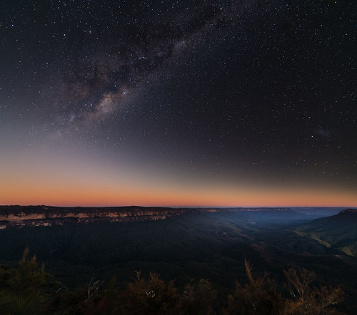 Blue Mountains and Milky Way | by Orange Orb Photography