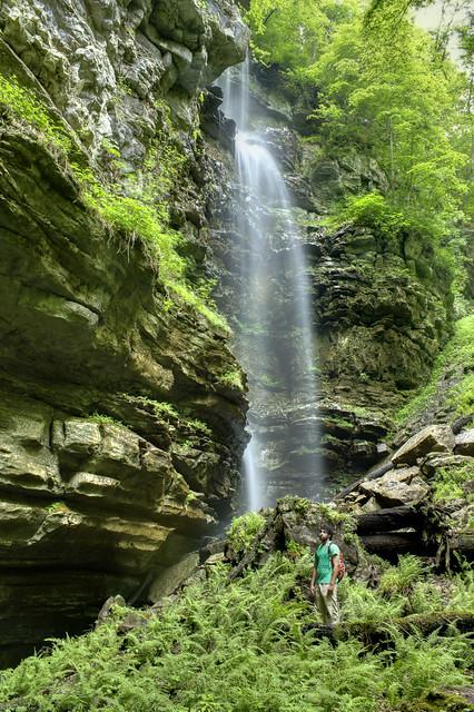 Verble Hollow Falls, Rami Ayoub, Putnam Co, TN
