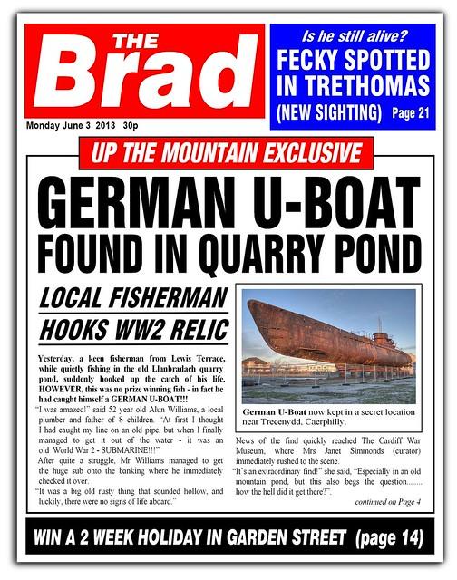 Brad Newspaper