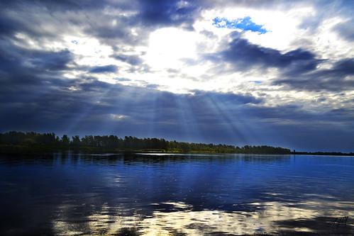 paisajes agua cielo tierra rayosdesol