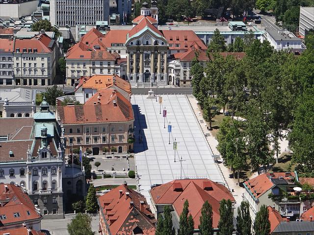La place du Congrès (Ljubljana)