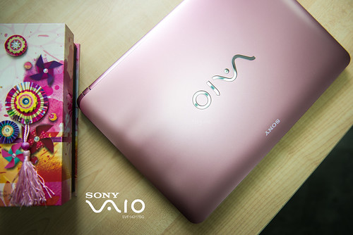 Sony Vaio SVF14217SG pink 2 | by PF T.J.