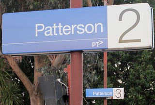 Patterson station: PTV and Metlink | by Daniel Bowen