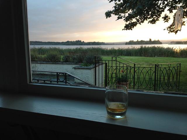 Evening libation