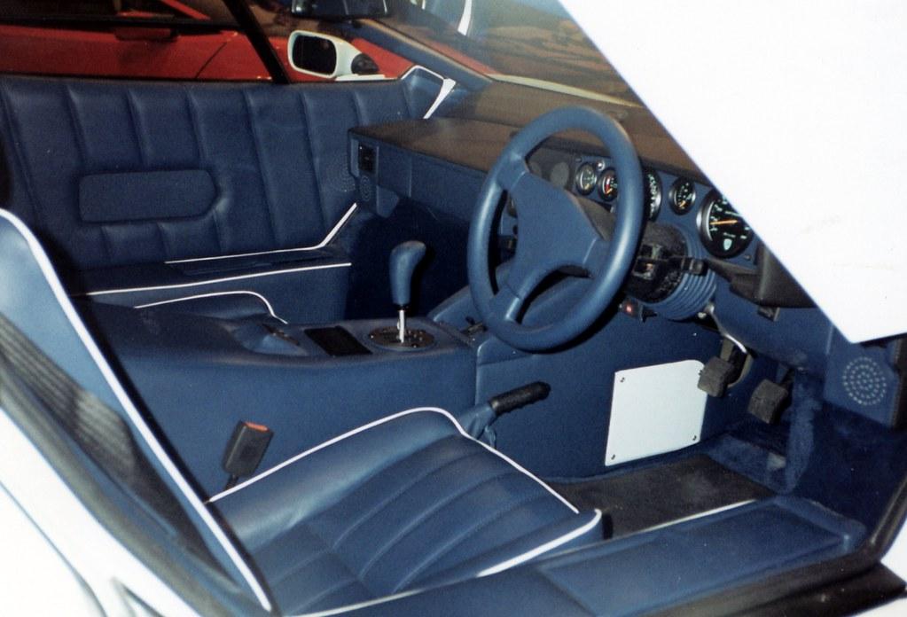 1989 Lamborghini Countach Qv 25th Anniversary Interior Flickr