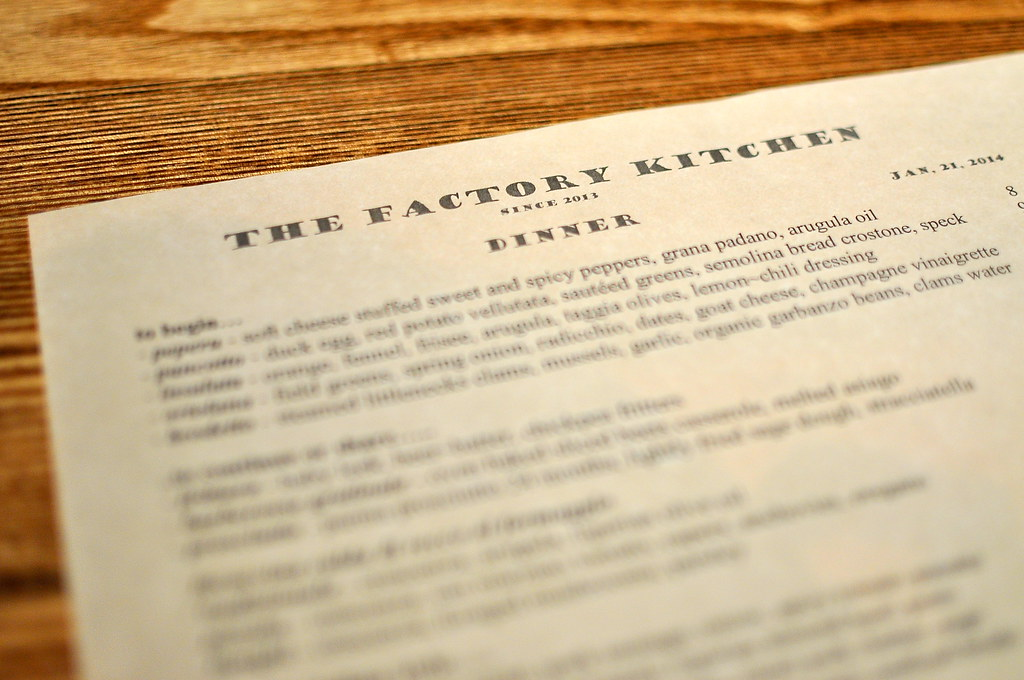 The Factory Kitchen Los Angeles Gastronomyblog Com 2014