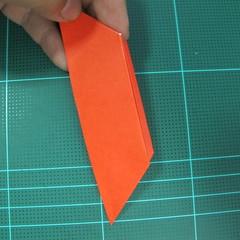 การพับกระดาษเป็นนกพิราบ (Origami pigeon) 00015