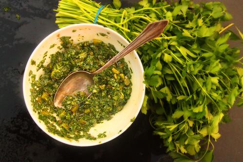 salsa verdi | by yumblog.co.uk
