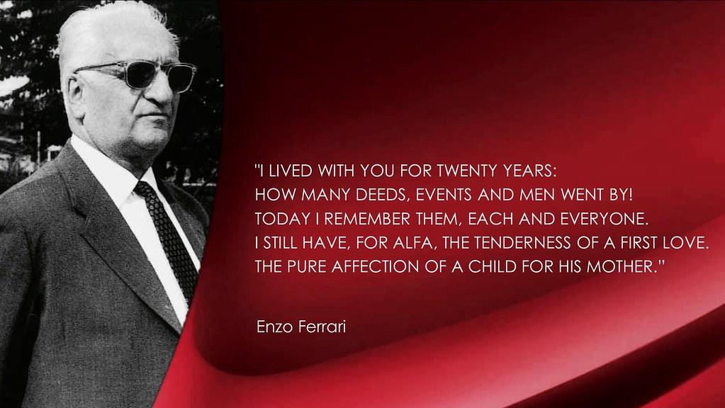 Alfa Romeo Quote By Enzo Ferrari Fiat Chrysler Automobiles Flickr