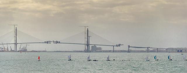Bahia de Cadiz y su nuevo puente