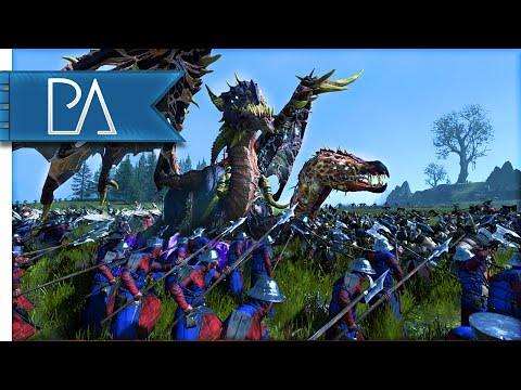 Watch BRETONNIAN STAND - Total War: WARHAMMER Gameplay HIG
