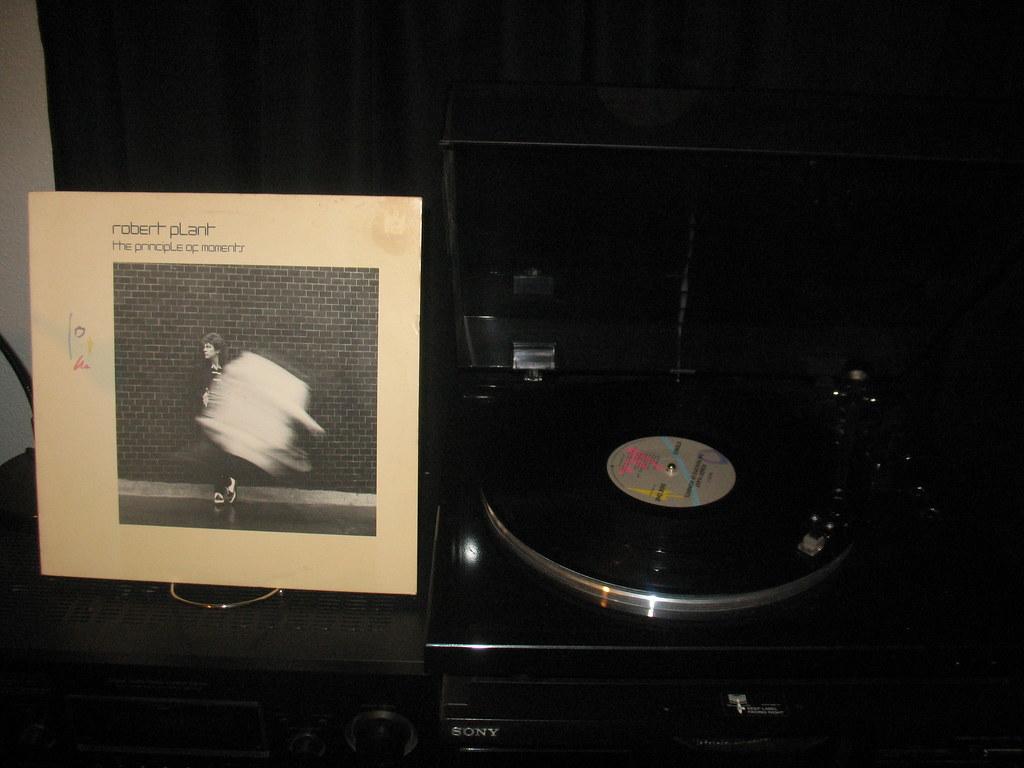 Robert Plant The Principle Of Moments 1983 Es Paranza Viny