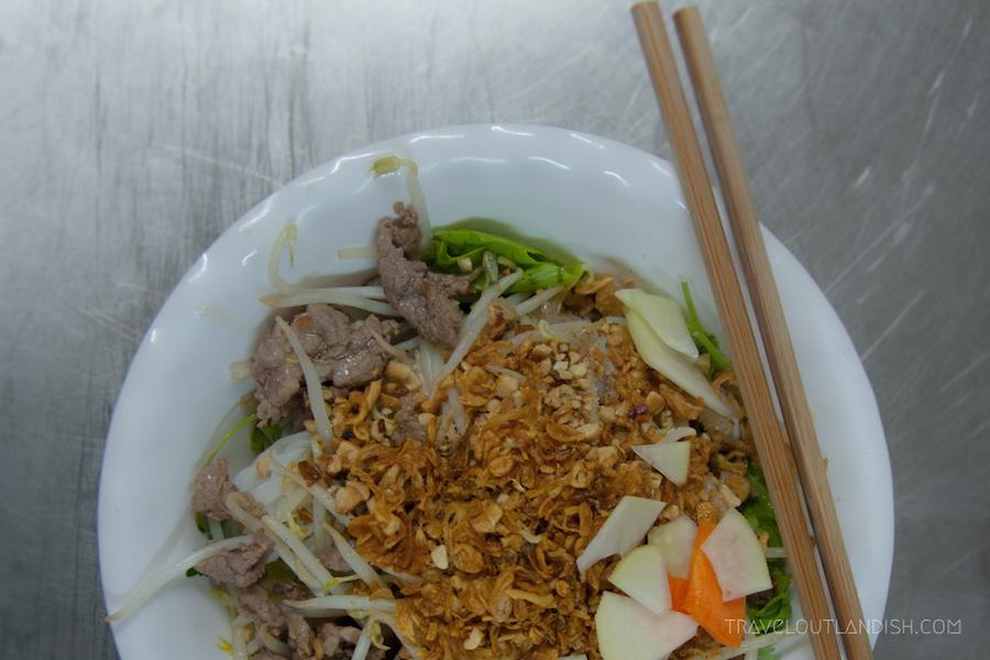 Street Food: Bún bí² Nam Bá»™