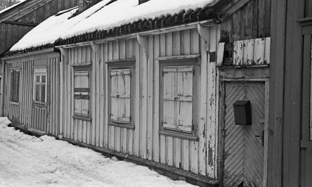Hus i Ilsvikøra