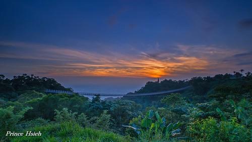 sunset taiwan skybridge 南投 日落 nantou 猴探井 sonya850 sony1635za 天空之橋