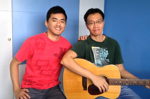 Private guitar lessons Singapore Weijian
