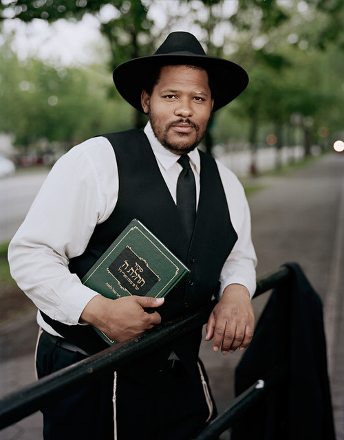 Yosef David Savoy, Black & Jewish, Crown Heights, 2012.