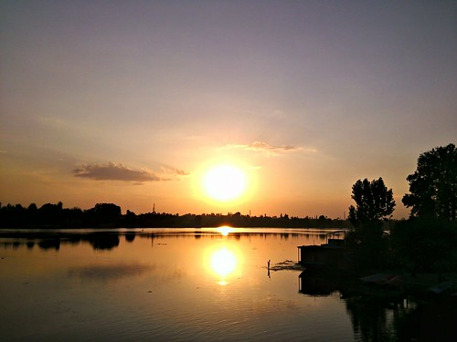 sunset day sunny srinagar partlysunny nigeenlake flickrandroidapp:filter=none