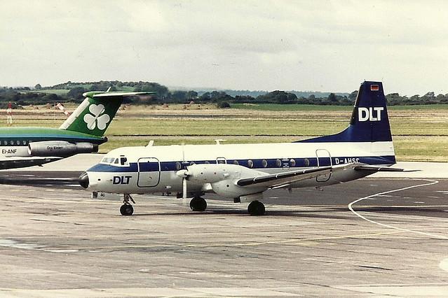 D-AHSC HS.748 DLT