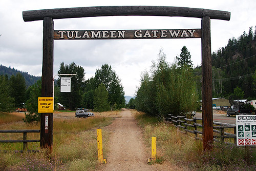 Trans-Canada Trail, Tulameen, Tulameen Valley, British Columbia, Canada