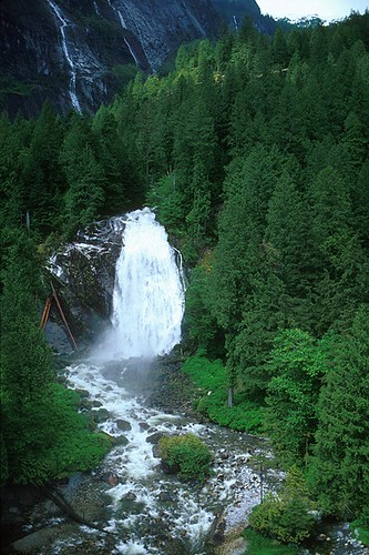 Chatterbox Falls, Princess Louisa Marine Park, Jervis Inlet, Sunshine Coast, British Columbia