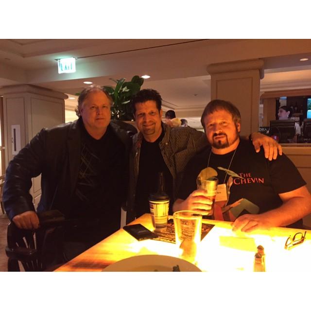 With Coast to Coast AM producer Tom Danheiser & Jimmy Chur