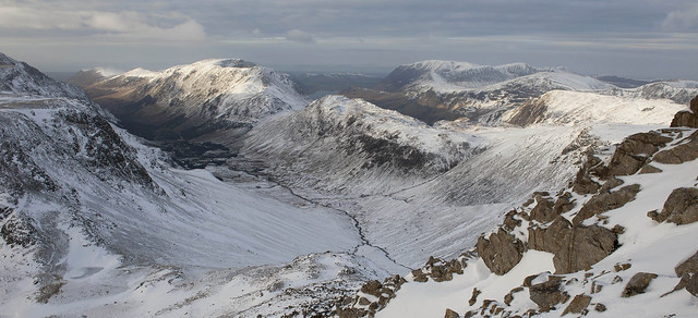 Upper Ennerdale Panorama from Great Gable