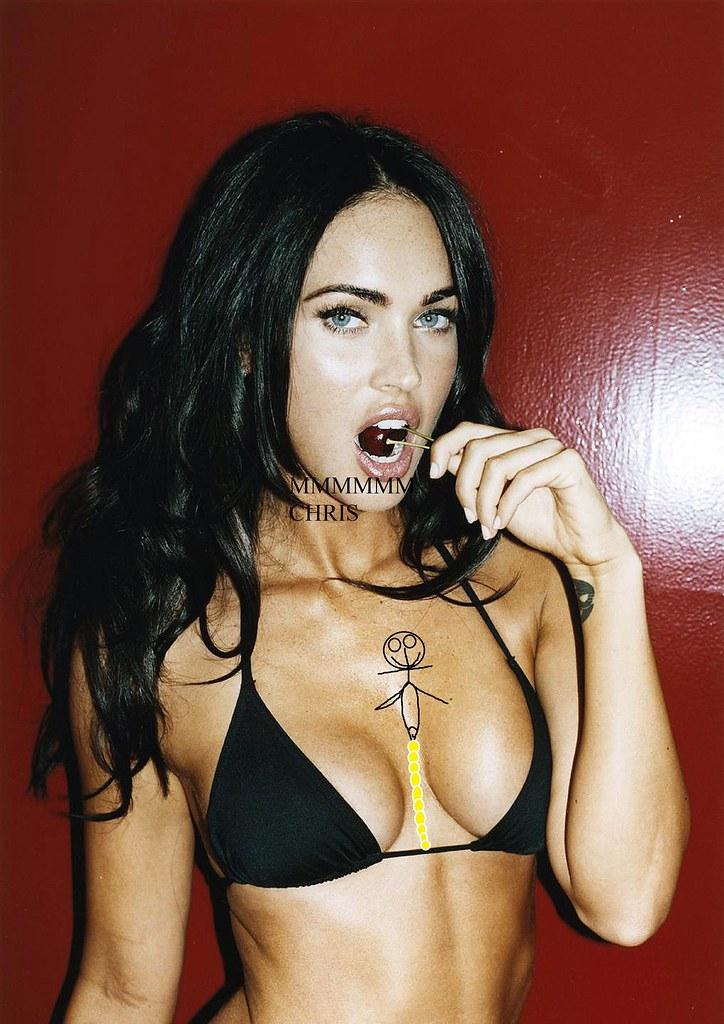 megan fox cum