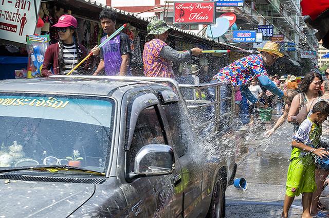 Thailand - During Songkran