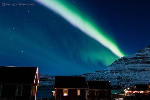 3.Aurora Borealis Eskifjordur