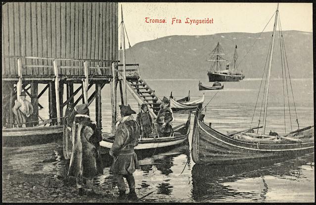 7. Tromsø. Fra Lyngseidet