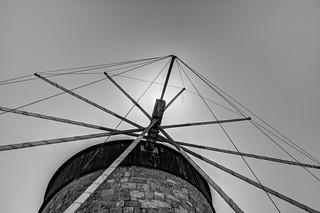 Rhodes Windmill   by Bart Jekel