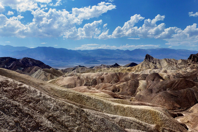 View from Zabriskie Point - Death Valley National Park, California