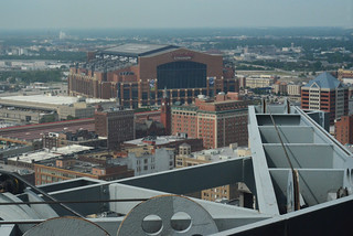 Nikon D5100 - From the City County Building on a hazy day.