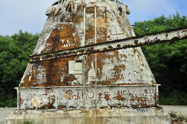 Graffiti @ Pacific Barrier Radar (PACBAR III ) on Saipan