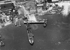 Ilens Skibsverft og den tyske sjøflyhavna i Ilsvika (1943)