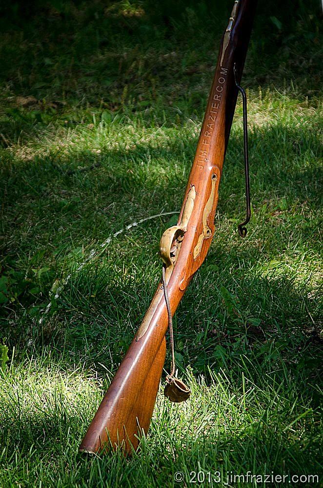 Tinkling Musket   Revolutionary War Reenactment Cantigny Par