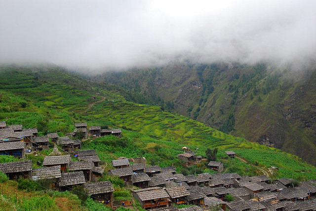 Gatlang Village Nepal on the Tamang Heritage Trek