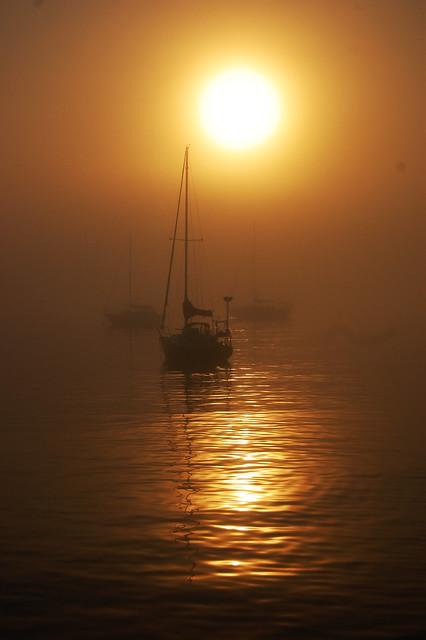Sunrise on the Big Lake