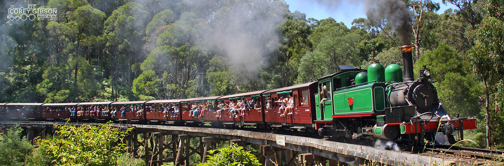 Puffing Billy Railway - 6A by Corey Gibson